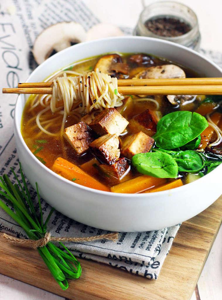 Ricetta Ramen Miso.Ramen Veloce Vegan Senza Glutine Cucina Naturale