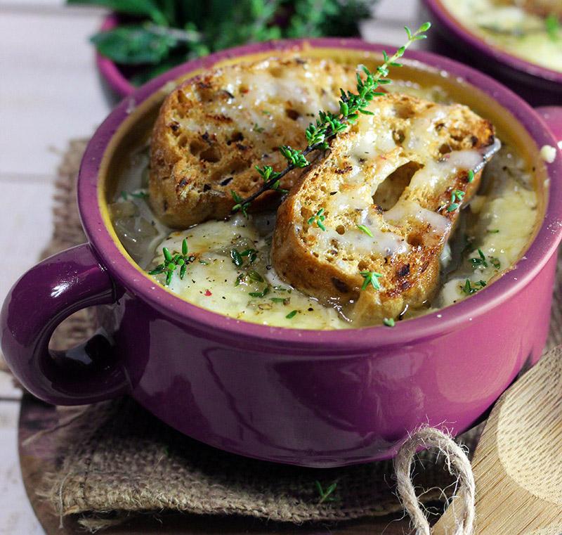 Ricetta Zuppa Cipolle Francese.Zuppa Di Cipolle Veloce E Light Cucina Naturale