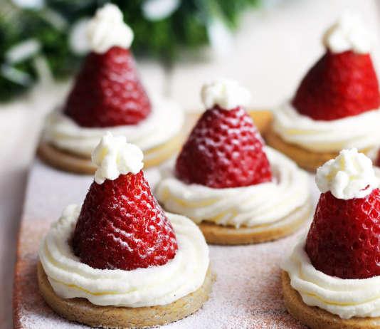 Cappelli dolci di Babbo Natale