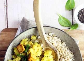 curry cavolfiore vegan
