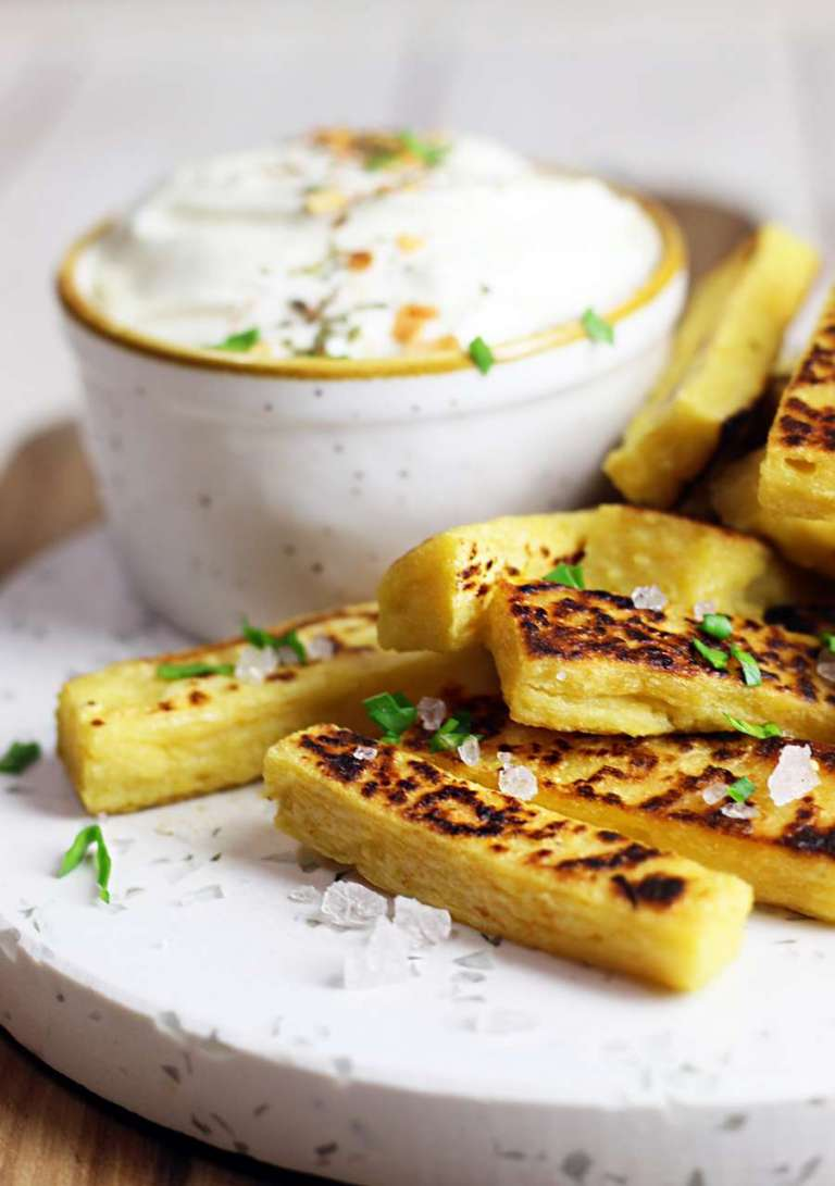 Patatine di ceci vegan