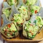 Carciofi in padella con avocado