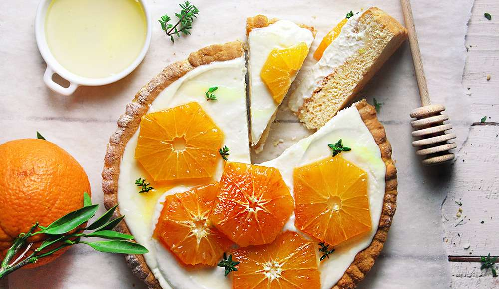 Crostata allo yogurt cremosa