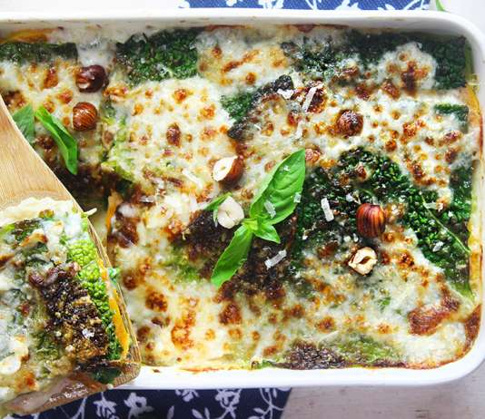 Lasagne di verza e zucca