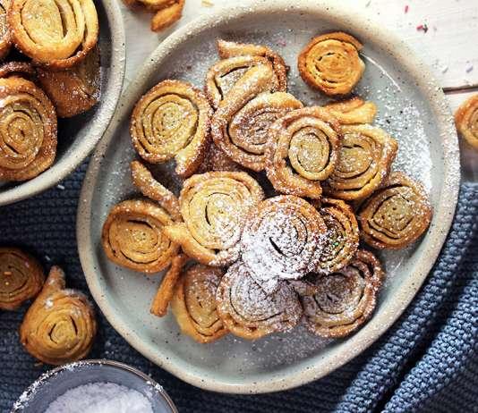 Tagliatelle dolci di carnevale