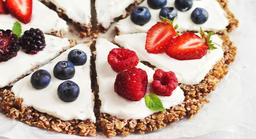 Croccante veloce con yogurt