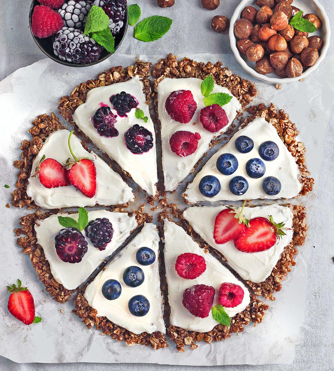 Ricetta Yogurt E Frutti Di Bosco.Croccante Di Muesli Con Yogurt E Frutti Di Bosco Cucina Naturale