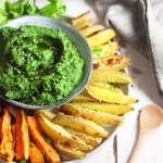 Hummus di spinaci