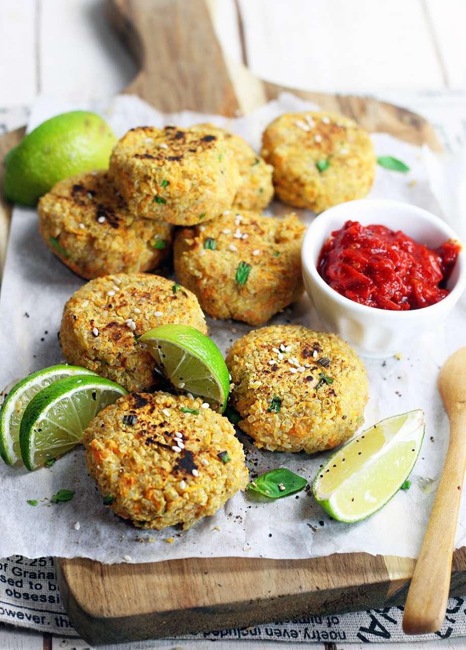 Ricette Vegetariane Quinoa.Polpette Vegan Di Quinoa Senza Pane Cucina Naturale