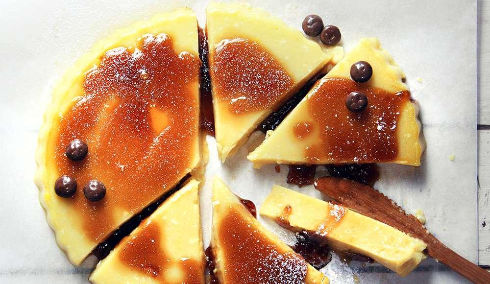 Torta budino veloce