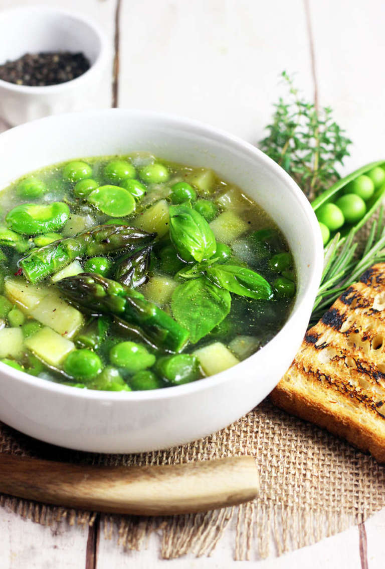 Zuppa di primavera