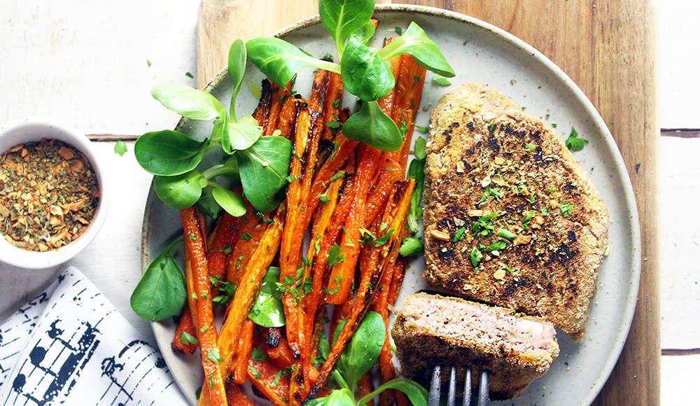 Bistecca vegan di fagioli