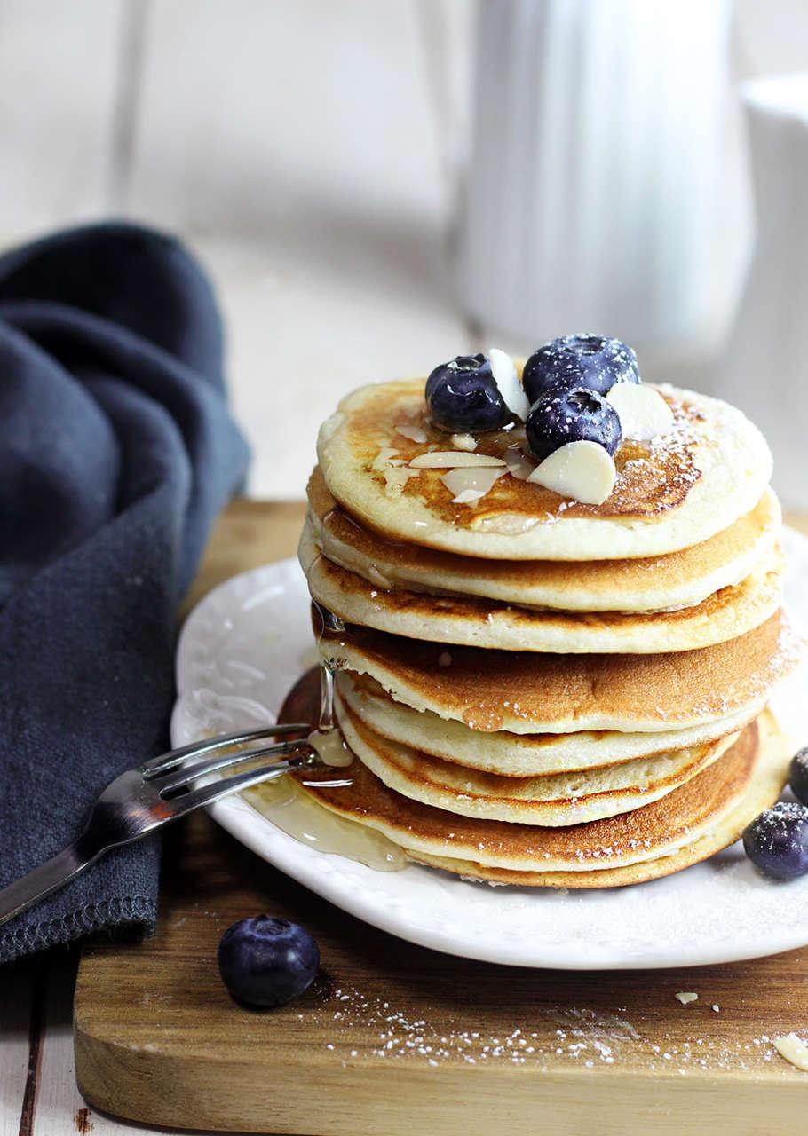 Ricetta Pancake Con Bicarbonato.Pancakes Senza Glutine Con Solo Albumi Cucina Naturale