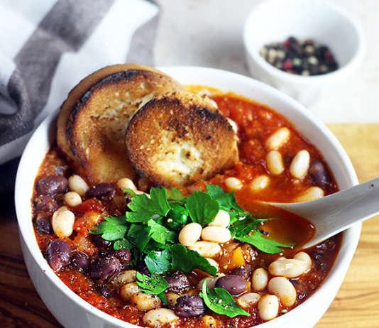 Zuppetta rossa di fagioli