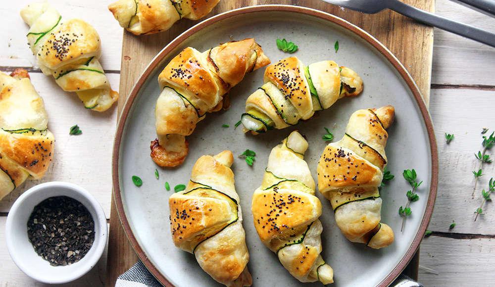 Brioches zucchine