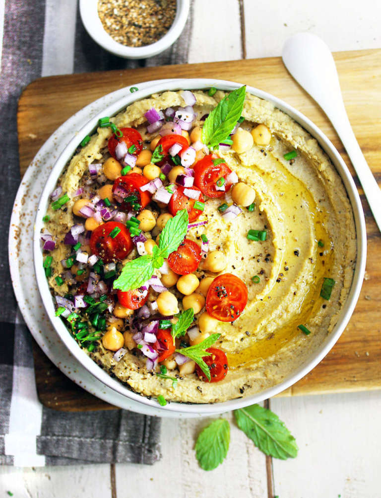 Hummus di ceci e cannellini