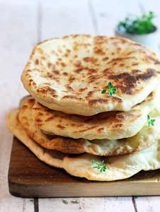 Pane in padella senza lievito
