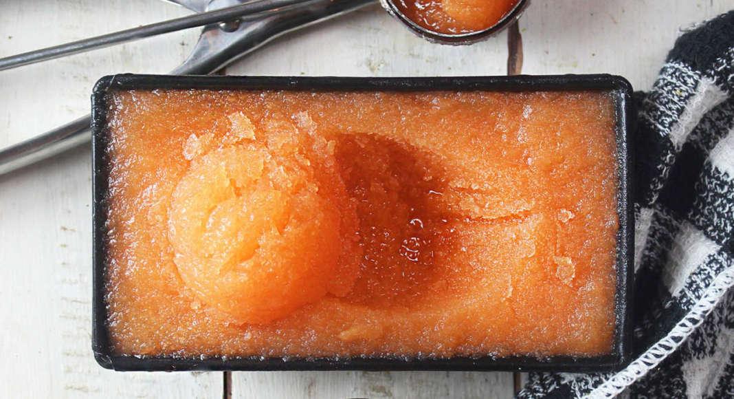 Sorbetto di melone senza gelatiera