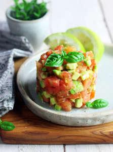 Tartare pomodoro e avocado