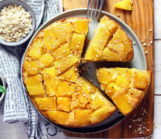 Torta rovesciata di ananas