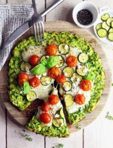 Tortilla di zucchine