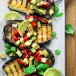 Bistecca vegan di melanzana