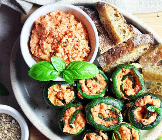 Pesto rosso con pomodorini