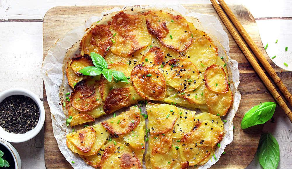 Tortino di patate senza glutine
