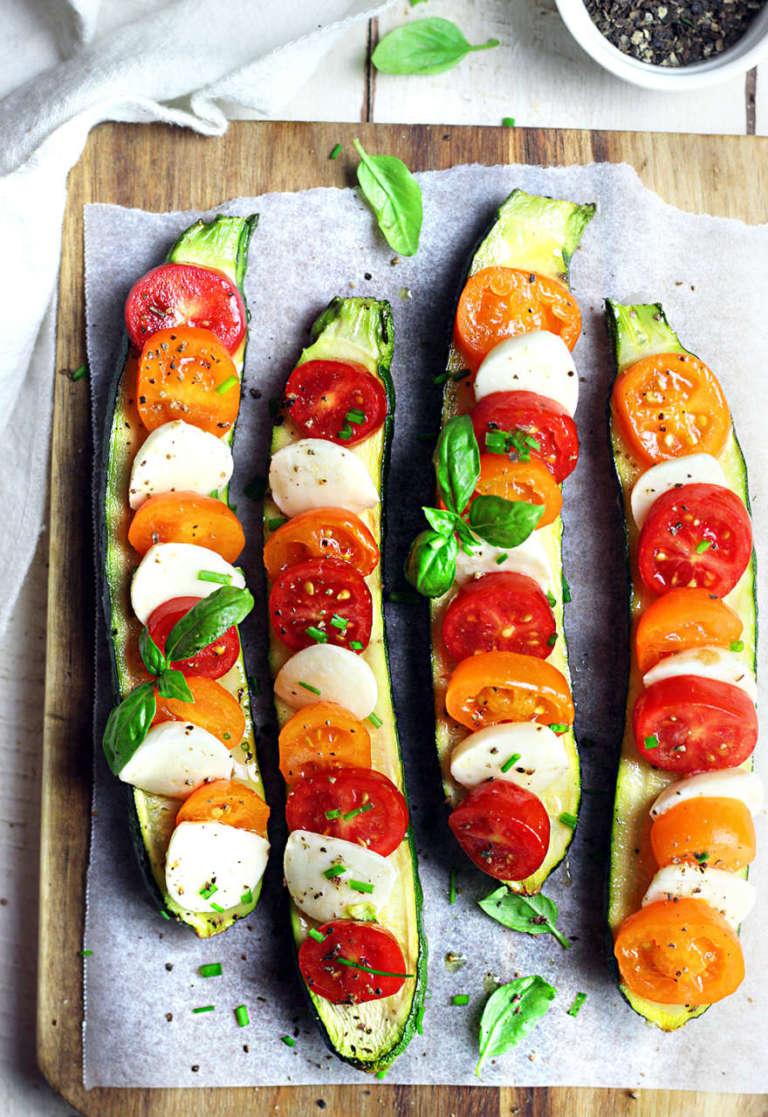 Zucchine capresi