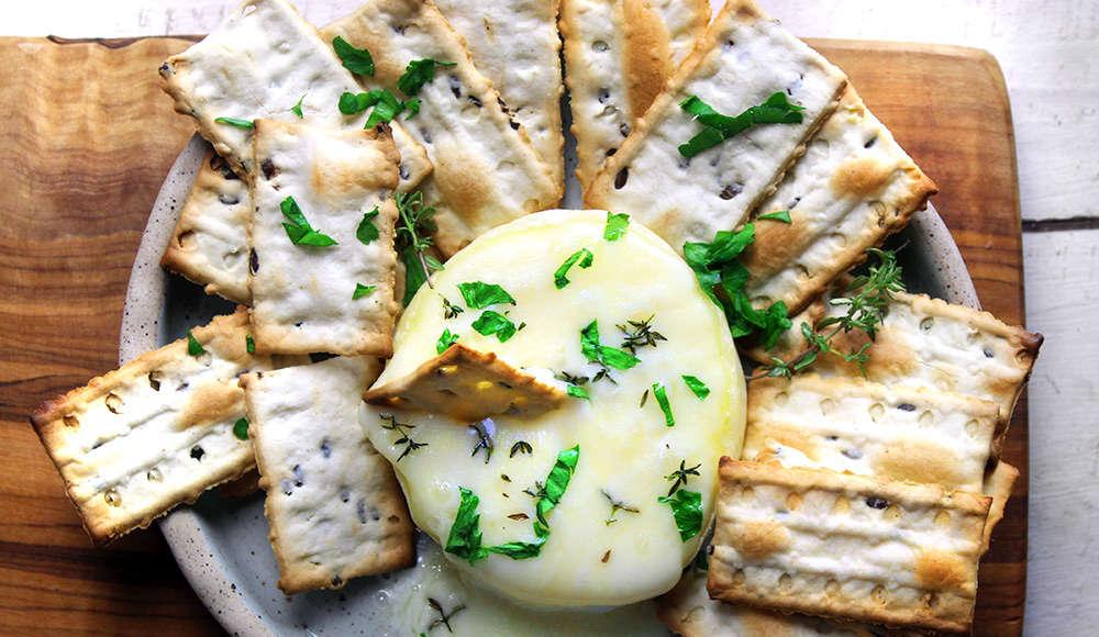 Crackers all'acqua senza lievito