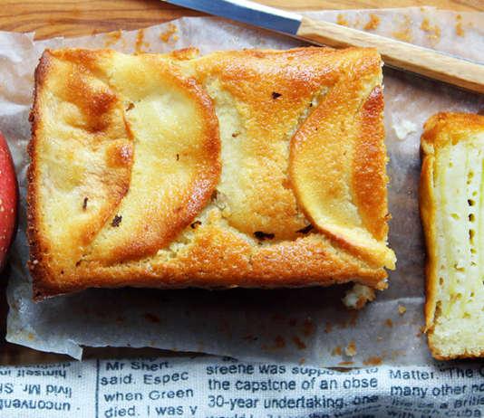 Plumcake millefoglie di mele