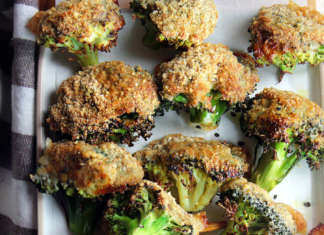 Cimette di broccoli al forno