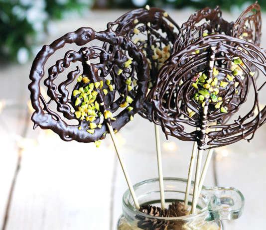 Fuochi artificiali al cioccolato