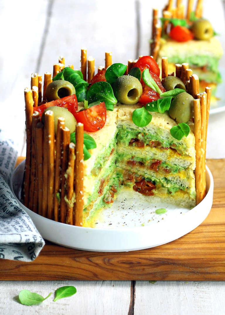 Sandwich cake vegan