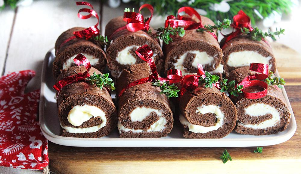 Tronchetti fingerfood di Natale