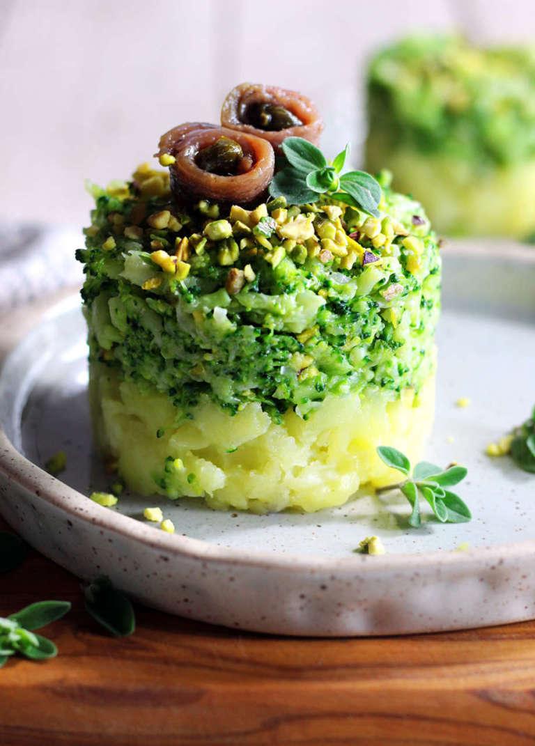 Tortino patate e broccoli
