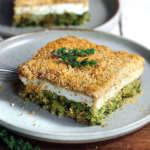 Broccoli e ricotta al forno