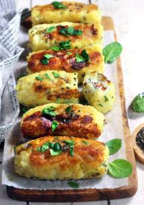 Involtini di patate senza glutine