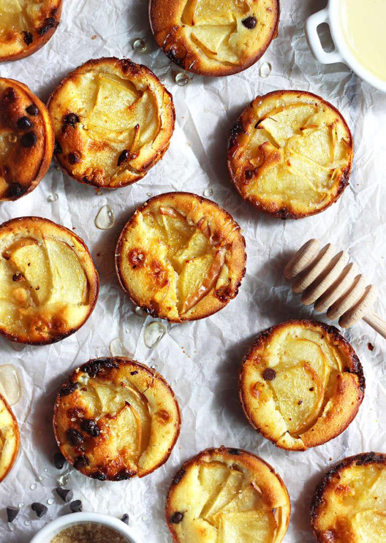 Pancakes di mele al forno