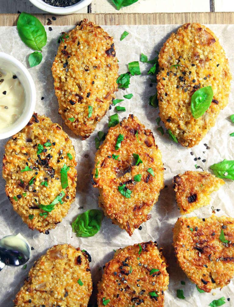 Quinoa nuggets