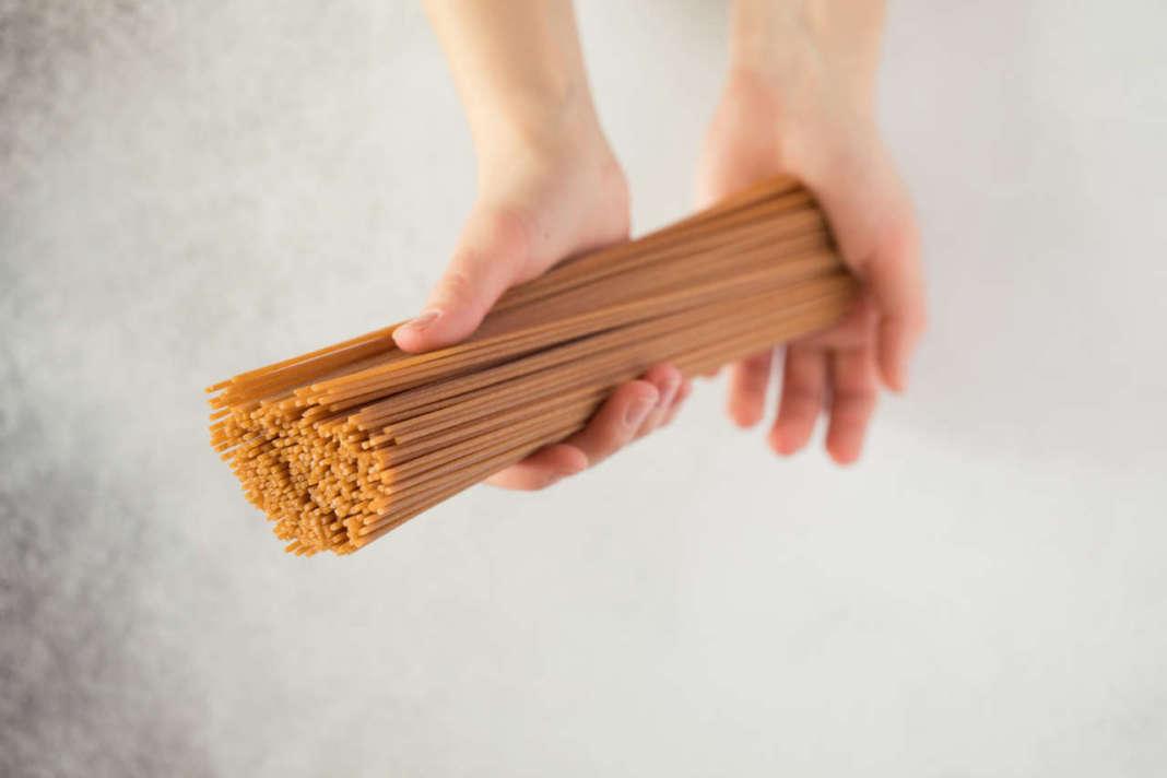 fibre dai cereali spaghetti integrali