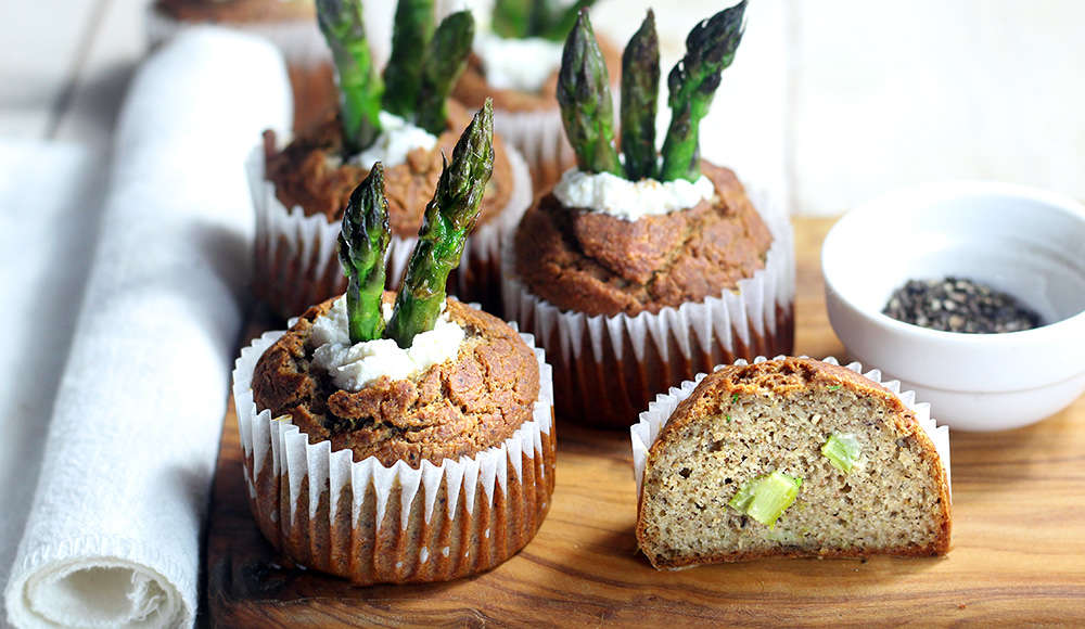 Muffin salati vegan senza glutine