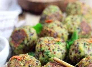 Polpette di zucchine e quinoa