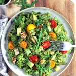 Quinoa al pesto di rucola e fagiolini