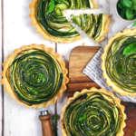 Crostatine salate di zucchine