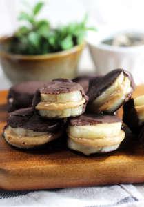 Dolcetti vegan banana cioccolato