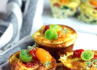 Frittate muffin con verdure