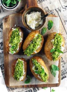 Patate ripiene di zucchine