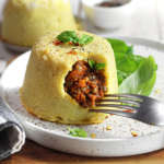 Sformatino di patate e ragù vegetariano