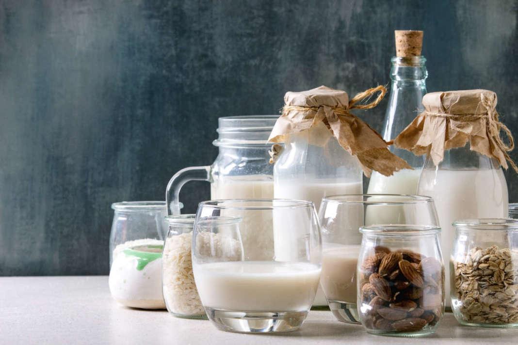 latte di mandorla e d'avena